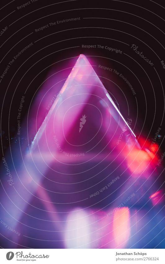 Prisma Laser Sci-fi Hintergrund Dreieck Glas Grafische Darstellung Hintergrundbild Informationstechnologie Kristallstrukturen Laserpointer Licht Makroaufnahme