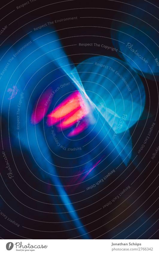 Prisma Laser Sci-fi Hintergrund blau rot Hintergrundbild leuchten Technik & Technologie Glas Zukunft Neigung Weltall Urelemente Futurismus