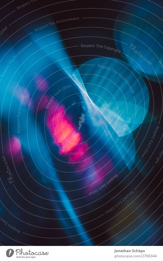Prisma Laser Sci-fi Hintergrund blau rot Hintergrundbild leuchten Technik & Technologie Glas Zukunft Weltall Urelemente Futurismus Technikfotografie