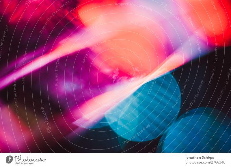 Prisma Laser Sci-fi Hintergrund blau rot schwarz Hintergrundbild retro leuchten Technik & Technologie Glas Zukunft Neigung Weltall Futurismus