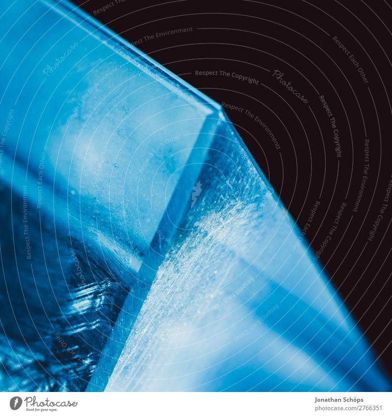Prisma Kristall Sci-fi Hintergrund blau rot schwarz Hintergrundbild retro leuchten Technik & Technologie Glas Zukunft Neigung Weltall Urelemente Futurismus