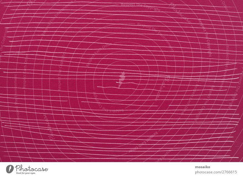feine Linien auf Papier Stil Design Internet Kunst Mode ästhetisch authentisch rosa weiß liniert Linientreue Zwischenraum Oberflächenstruktur unbeständig Schnur