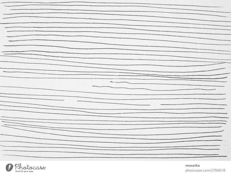 feine Linien Stil Design Internet Mode ästhetisch außergewöhnlich trendy Konkurrenz Konzentration Zeichnung liniert Linientreue Lücke gestreift schwarz weiß