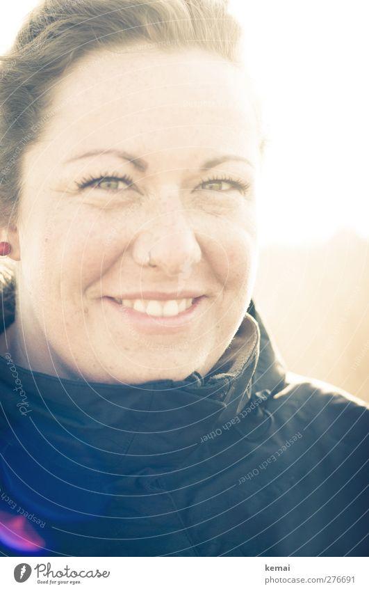 Hiddensee | Sonnensusann (II) Lifestyle Mensch feminin Junge Frau Jugendliche Erwachsene Leben Kopf Gesicht Auge Nase Mund Lippen Zähne 1 18-30 Jahre Jacke