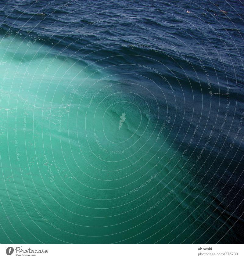Meer blau Wasser grün Wellen Urelemente türkis Bosporus