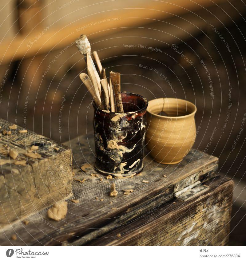 des Töpfers Ausschuss Handwerk Handwerkermarkt Kreativität Töpfern Töpferei Farbfoto Außenaufnahme Nahaufnahme