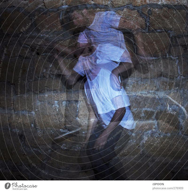 STROBO Mensch Mann Jugendliche Hand Erwachsene Beine Junger Mann Fuß Körper Tanzen 18-30 Jahre außergewöhnlich Arme maskulin leuchten ästhetisch