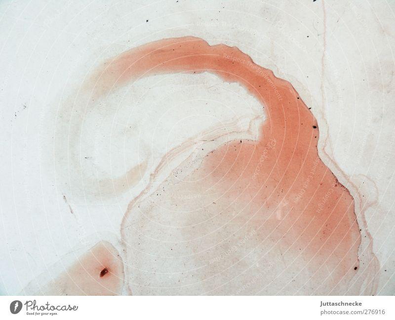 Moritz Kunst Maler Kunstwerk Wasser dreckig Ekel Flüssigkeit rot chaotisch Pfütze Spuren abstrakt Farbfoto Außenaufnahme Nahaufnahme Menschenleer