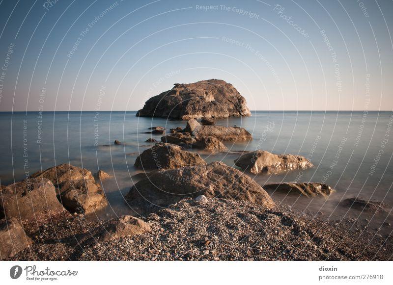 The Rock Ferien & Urlaub & Reisen Tourismus Ausflug Abenteuer Ferne Sommer Sommerurlaub Sonnenbad Strand Meer Insel Umwelt Natur Landschaft Urelemente Erde