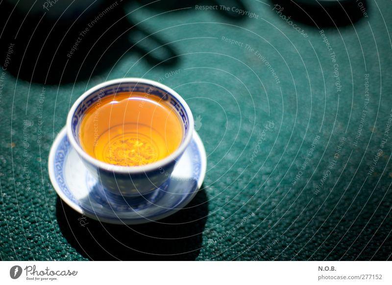 Abwarten und Tee trinken blau grün Farbe ruhig Erholung Wärme Gesundheit orange Lebensmittel Zufriedenheit ästhetisch Getränk Gelassenheit Lebensfreude
