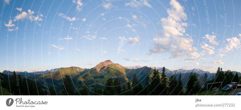 Saaner Bergwelt Himmel Natur blau alt Sommer Wolken ruhig Erholung Landschaft Berge u. Gebirge Leben Freiheit Luft Felsen Zufriedenheit wandern