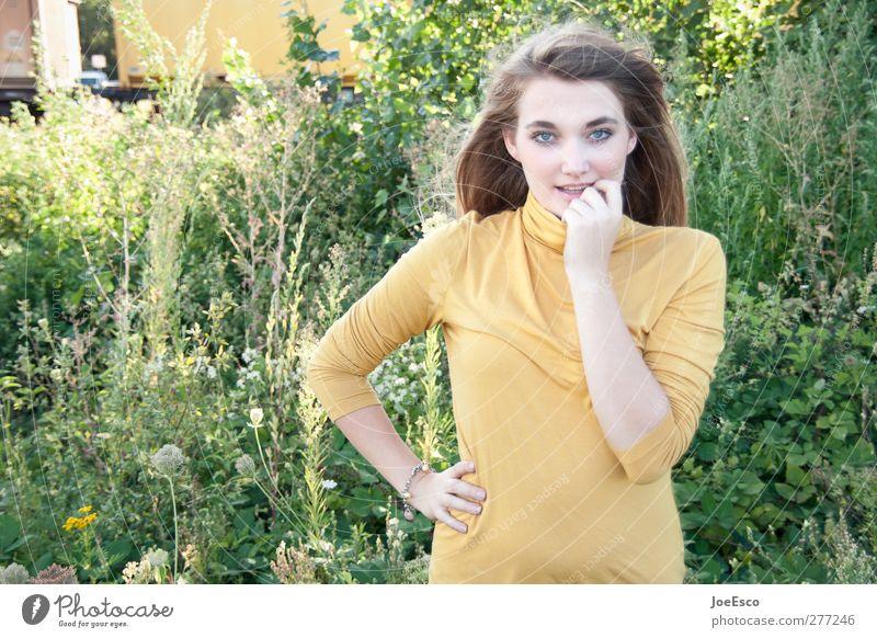 #217894 Leben Wohlgefühl Zufriedenheit Freizeit & Hobby Freiheit Sommer Sommerurlaub Junge Frau Jugendliche Mensch 18-30 Jahre Erwachsene Natur Blume Wiese Mode