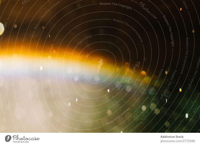 Bokeh Hintergrund mit Regenbogen Unschärfe Licht Hintergrundbild glühen Zauberei u. Magie Einfluss glänzend abstrakt hell mehrfarbig schön glühend Staub Glanz