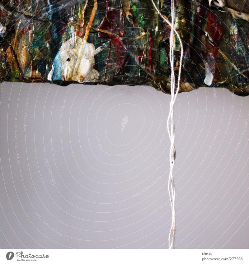 work in progress Wand Farbstoff Mauer Kunst Fröhlichkeit Schnur einzigartig Kreativität Neugier Gemälde entdecken Überraschung Partnerschaft Leichtigkeit