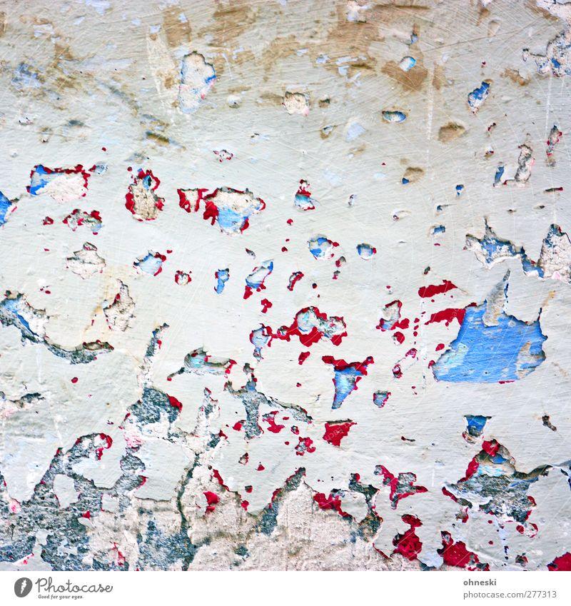 Abstract Stadt Farbe Haus Wand Farbstoff Mauer Stein Fassade kaputt verfallen Putz