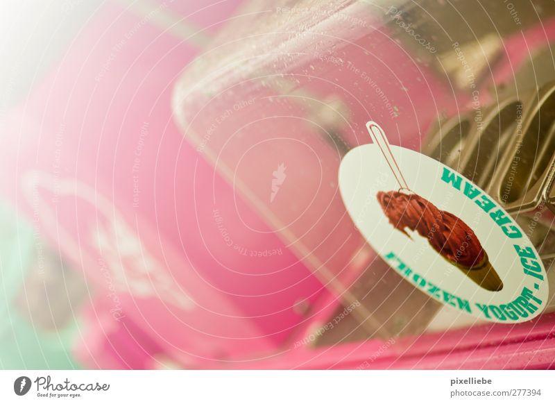 Welche Sorte möchtest du? Sommer Metall Glas Kindheit Ernährung Speiseeis Pause retro Kitsch Appetit & Hunger Süßwaren lecker Dienstleistungsgewerbe Nostalgie
