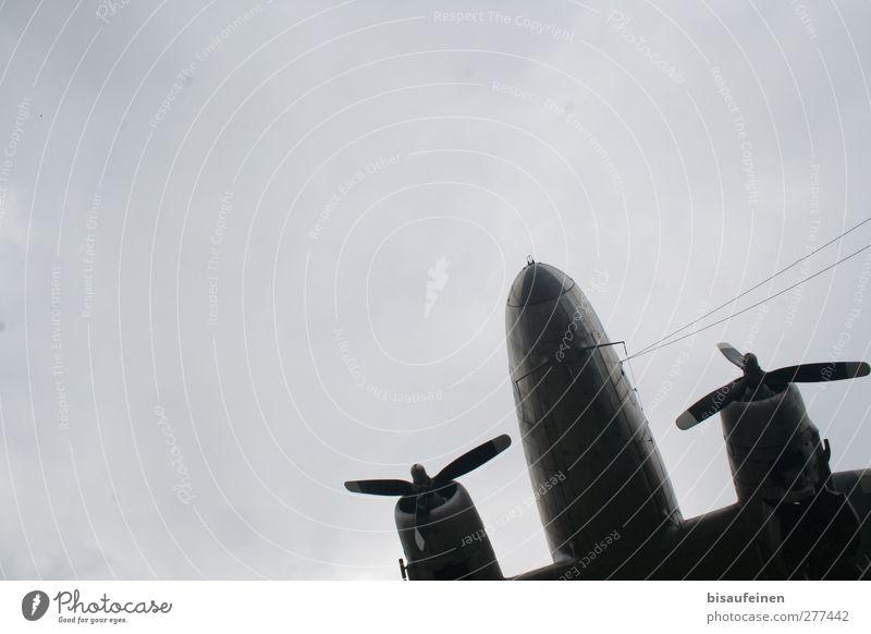 Hold the Line | UT HD 2012 Motor Technik & Technologie Luftverkehr Verkehrsmittel Flugzeug Passagierflugzeug Propellerflugzeug Fluggerät warten alt retro