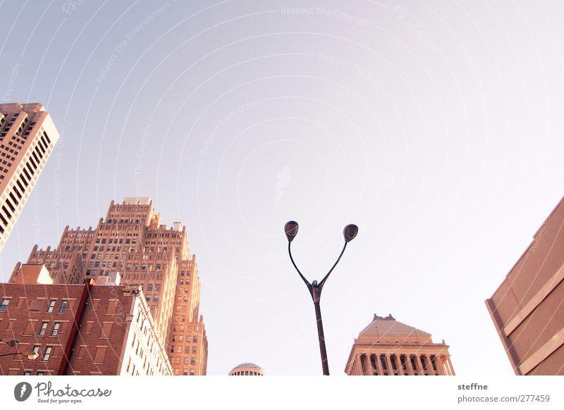 sun shine in the ci ty Stadt Sommer Haus Fassade Hochhaus USA heiß Laterne Skyline Stadtzentrum St. Louis