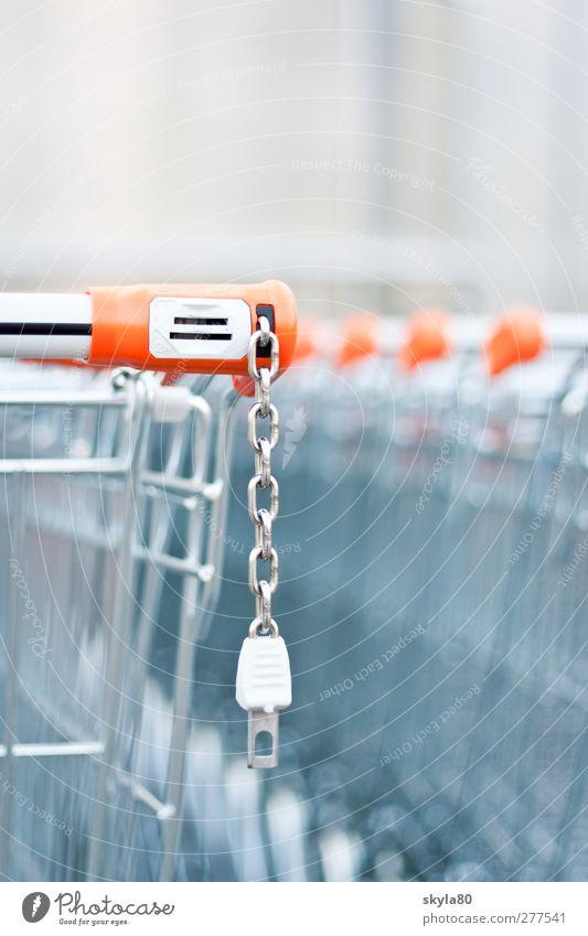 Einkaufsbummel Einkaufswagen Pfand Drahtkorb Supermarkt Ladengeschäft Metall Metallwaren Kunststoff Konsum Handel Wagen Einkaufskorb Einkaufscenter