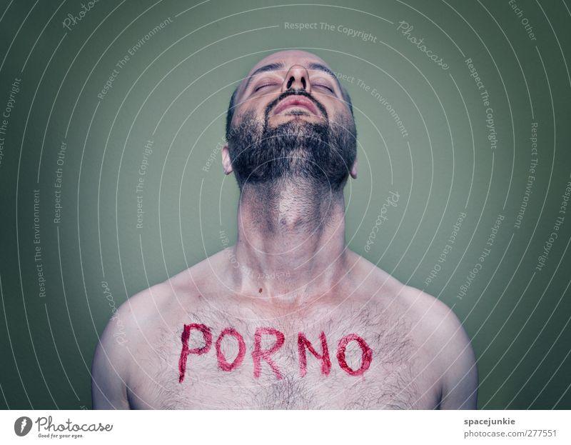 Porno Mensch maskulin Junger Mann Jugendliche Erwachsene 1 30-45 Jahre schwarzhaarig Bart Brustbehaarung außergewöhnlich dunkel gruselig Erotik trashig verrückt
