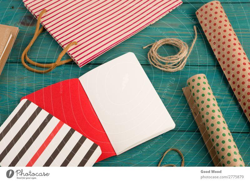 Einkaufstasche, Packpapier mit Polka-Punkten, Notizbücher kaufen Stil Design schön Büro Handwerk Business Seil Musiknoten Rudel Papier Holz hell natürlich neu