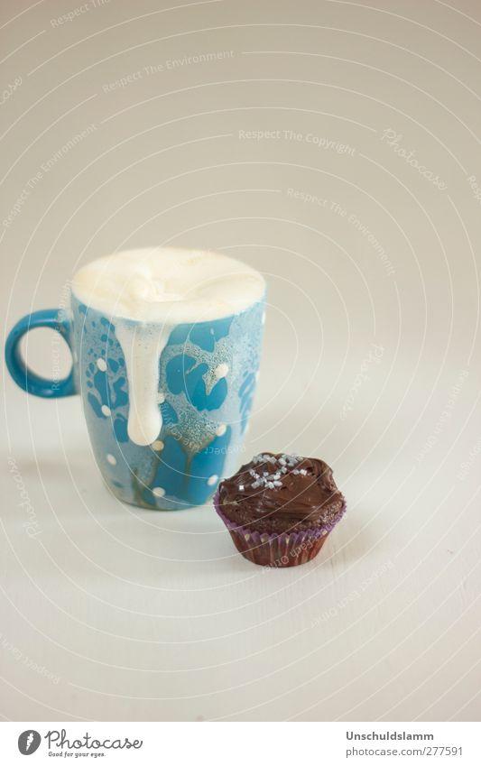 M wie Milch blau weiß Essen Gesundheit braun Wohnung Lebensmittel Ernährung Häusliches Leben Lifestyle süß Kaffee einzigartig trinken genießen Lebensfreude