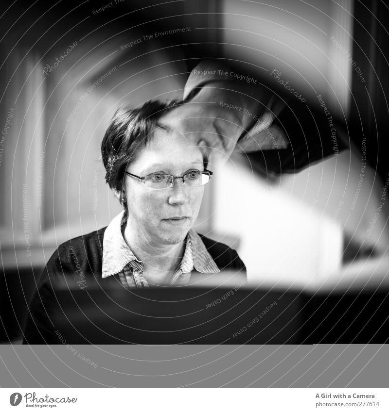 best ever feminin Junge Frau Jugendliche Erwachsene Leben Kopf 1 Mensch 30-45 Jahre seriös Stimmung gewissenhaft Entschlossenheit kompetent talentiert Klavier
