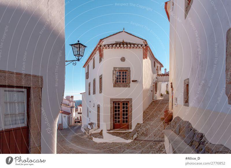 Mittelalterliches Dorf Marvao in Alentejo Portugal Ferien & Urlaub & Reisen Europa Kleinstadt Haus Architektur Fassade Fenster Tür Sehenswürdigkeit Denkmal