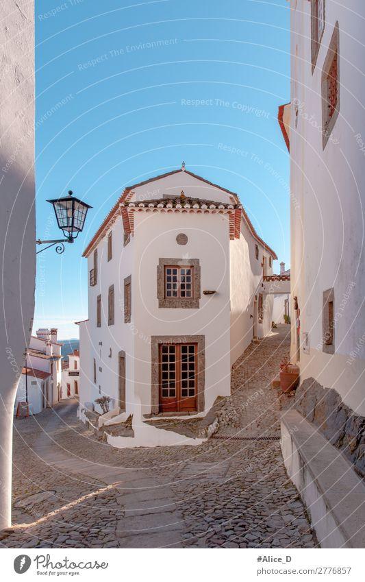 Mittelalterliches Dorf Marvao in Alentejo Portugal Ferien & Urlaub & Reisen Europa Kleinstadt Haus Architektur Fenster Tür Sehenswürdigkeit Straße authentisch