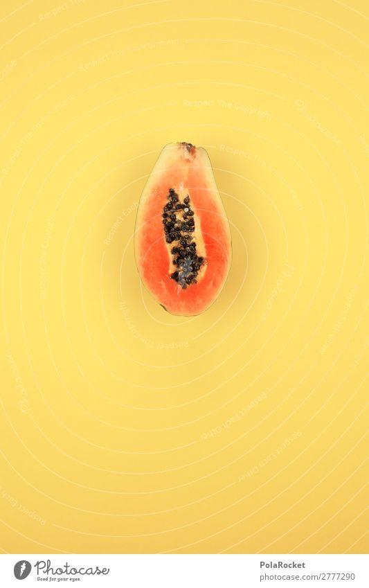 #A# PapaJA! Kunst Kunstwerk ästhetisch Papaya Frucht fruchtig fruchtbar Fruchtblüte Fruchteis Vitamin vitaminreich lecker Gesunde Ernährung Südfrüchte Farbfoto