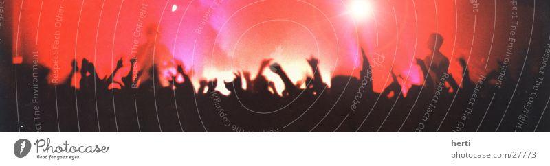 publikum Hand Menschengruppe Stimmung Menschenmenge Bühne Publikum Applaus