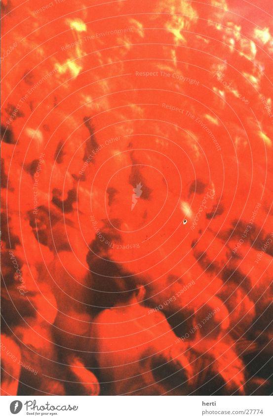 menschenmeer Mensch rot Freude Ernährung Party Menschengruppe Musik Beleuchtung Feste & Feiern Tanzen maskulin Disco Konzert Club Veranstaltung Menschenmenge