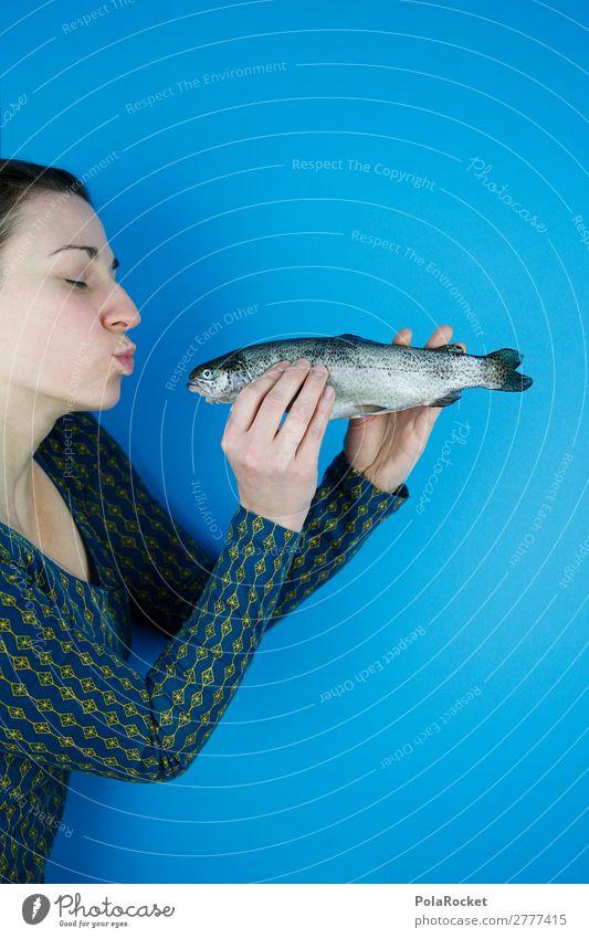 #A# KISS ME Kunst ästhetisch Erfahrung Inspiration Kontakt Lebensfreude Liebe Lust Neugier Scham Wunsch Symbole & Metaphern Ekel Mundgeruch Forelle Fisch