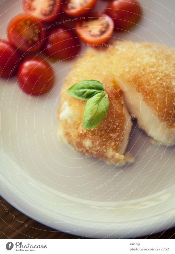 Mozzarella, paniert Ernährung Gemüse lecker Mittagessen Käse Vegetarische Ernährung Slowfood