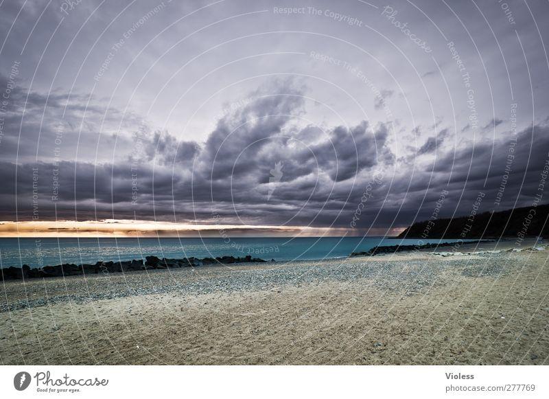 Hiddensee   ...What's up Himmel Natur Wasser Strand Wolken Landschaft dunkel Sand Luft Insel Urelemente bedrohlich Ostsee Gewitter schlechtes Wetter Gewitterwolken