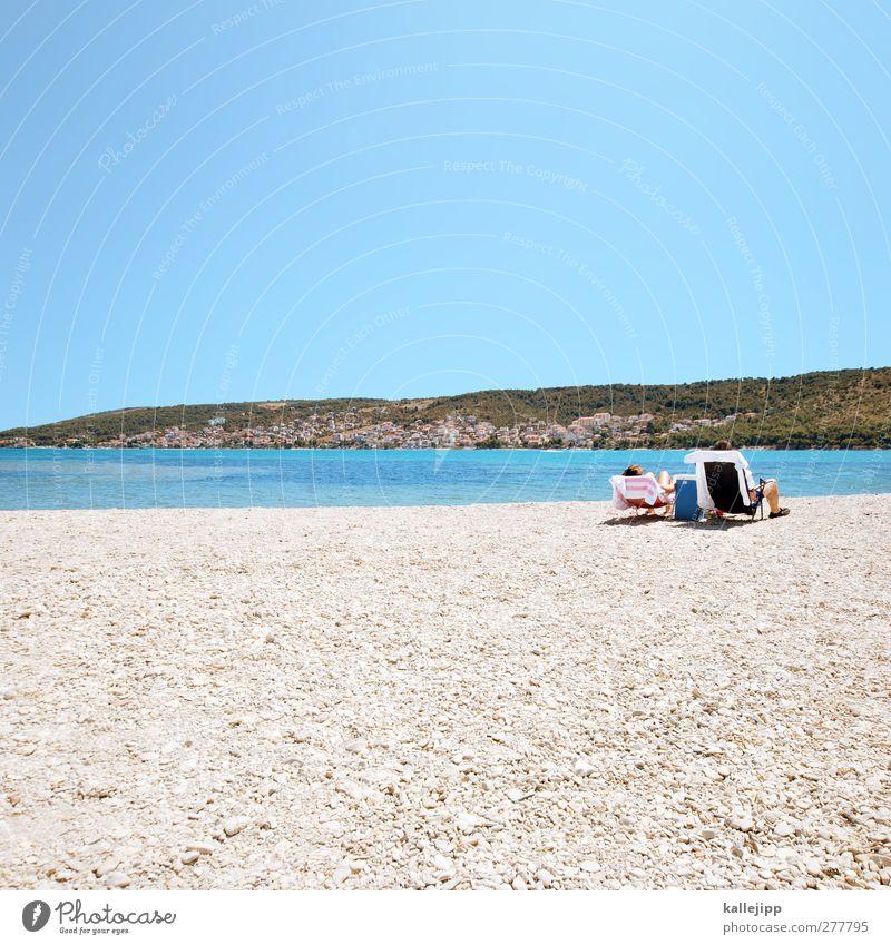 pauschalurlaub Mensch Jugendliche Ferien & Urlaub & Reisen Sommer Sonne Meer Strand ruhig Erwachsene Ferne Umwelt feminin Leben Freiheit Küste Glück