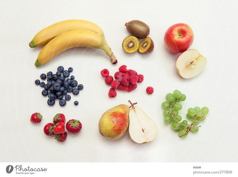 Früchte dich nicht Lebensmittel Frucht Ernährung Frühstück Bioprodukte Vegetarische Ernährung Lifestyle Stil liegen authentisch frisch Gesundheit hell lecker