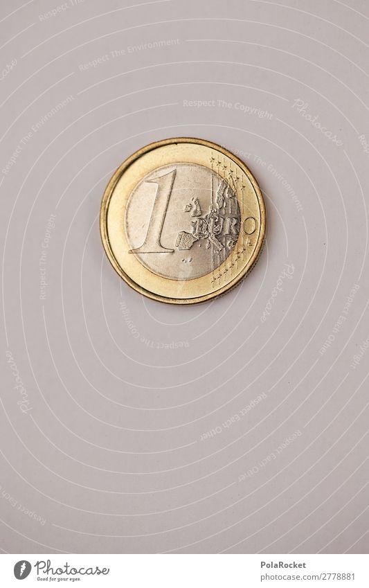 #A# EIN EURO MÜNZE Kunst Kunstwerk ästhetisch Geld Geldinstitut Geldmünzen Geldgeschenk Geldnot Geldkapital Geldgeber Geldverkehr Finanzkrise Wert Bargeld 1