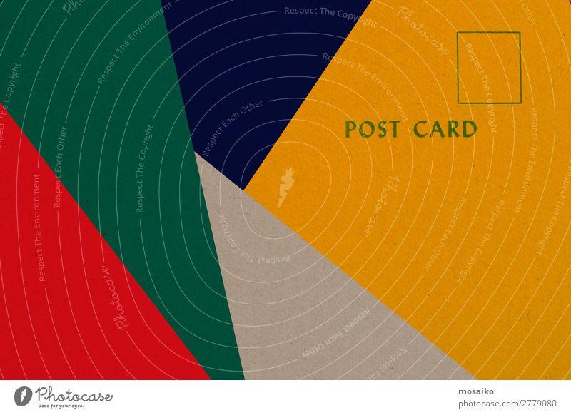 Postkarte elegant Stil Design Entertainment Party Veranstaltung Büro Business sprechen Printmedien Neue Medien Internet E-Mail retro Hintergrundbild