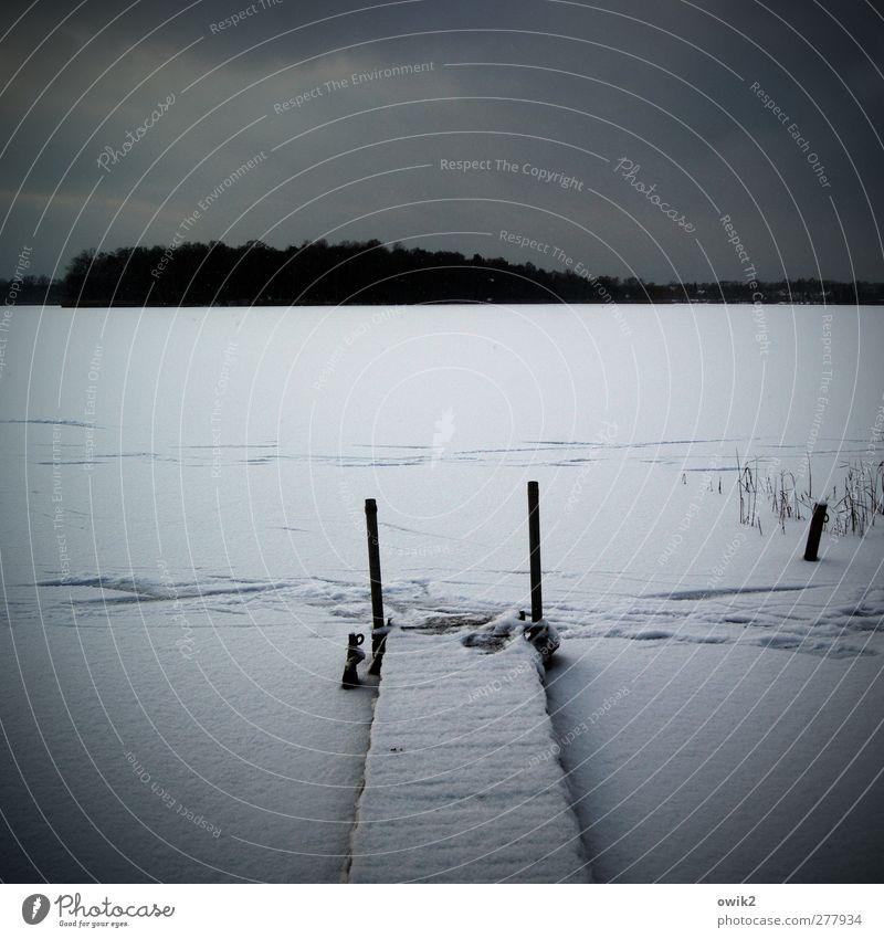 Terminal Himmel Natur blau Einsamkeit Wolken Winter ruhig Wald Landschaft Umwelt dunkel kalt Schnee See Horizont Eis