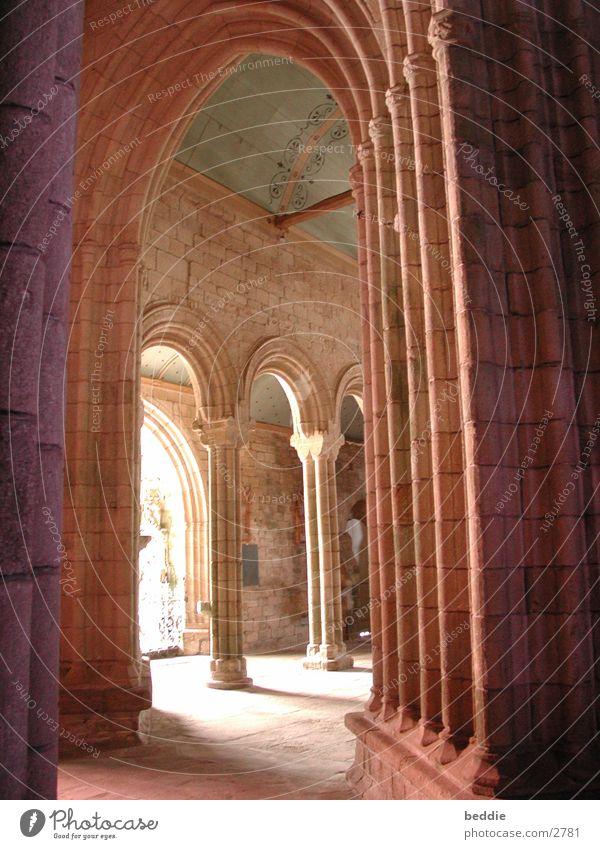 Arkaden Säule Licht Ausgang Architektur Religion & Glaube