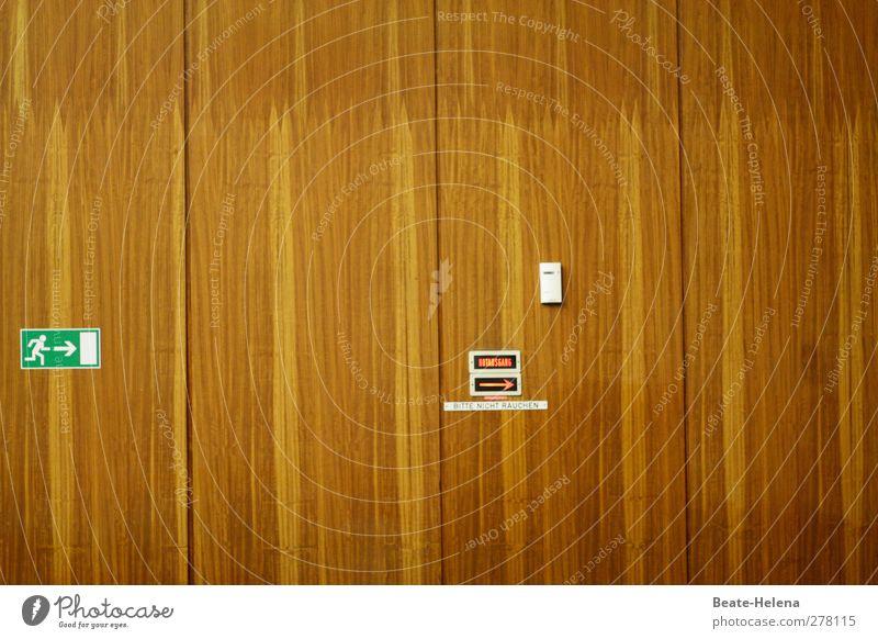 Regel-mäßige Holzwand Innenarchitektur Bildung Wissenschaften Messinstrument Architektur Mauer Wand Pfeil außergewöhnlich groß braun grün weiß anstrengen Schule
