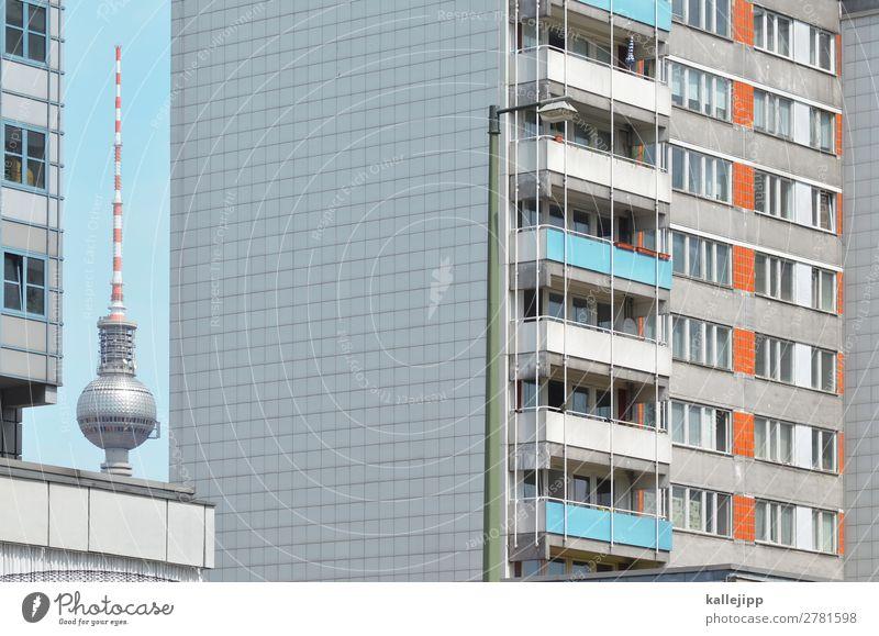 4800_perspektiven Stadt Hauptstadt Stadtzentrum Haus Hochhaus Turm Architektur authentisch Perspektive Berlin Berlin-Mitte Berliner Fernsehturm Hochhausfassade