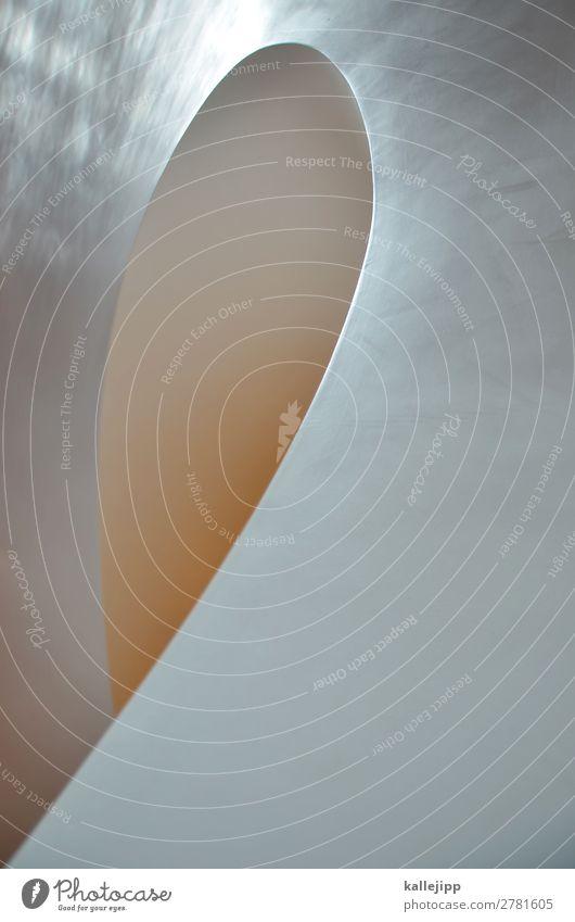 l Kunst Treppe dünn Strukturen & Formen Design geschwungen Treppenhaus Wendeltreppe Oval rund Schleife Spirale Architektur Farbfoto Innenaufnahme abstrakt Licht