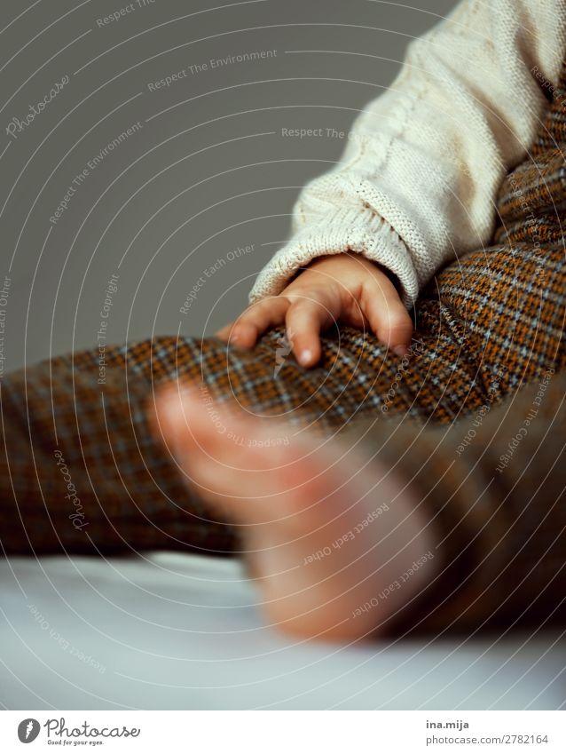 Kleine Forscherhand Mensch Kind Baby Kleinkind Mädchen Junge Kindheit Hand 1 0-12 Monate 1-3 Jahre Mode Bekleidung Hose Pullover Wollpullover trendy kuschlig