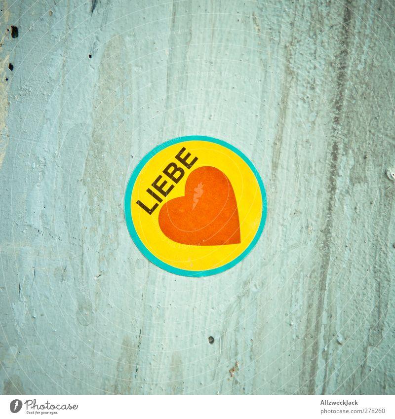 kreative Eigenleistung = 0 Liebe Wand Herz Beton Schriftzeichen Etikett