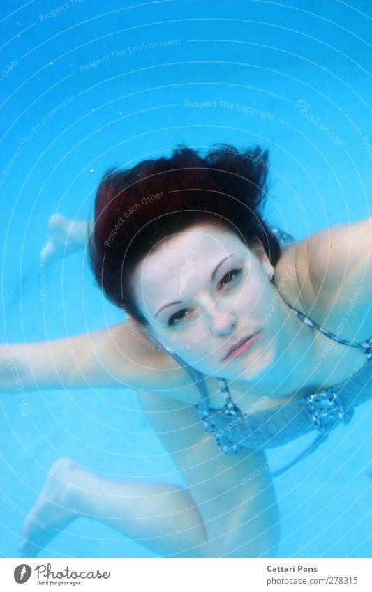 hello landsmen... Körper Freizeit & Hobby tauchen Schwimmen & Baden Schwimmbad feminin Junge Frau Jugendliche Erwachsene 1 Mensch 18-30 Jahre Wasser Kleid Stoff