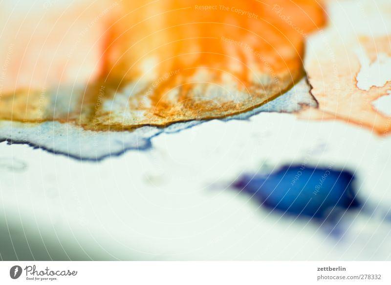 Aquarell Farbstoff Kunst Kultur Gemälde exotisch Verlauf Kunstwerk Tusche