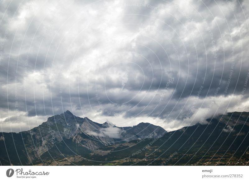 Gebirge Himmel Natur Wolken Landschaft Umwelt Berge u. Gebirge grau Wind Klima bedrohlich Alpen Schweiz Unwetter Sturm Gewitter Klimawandel