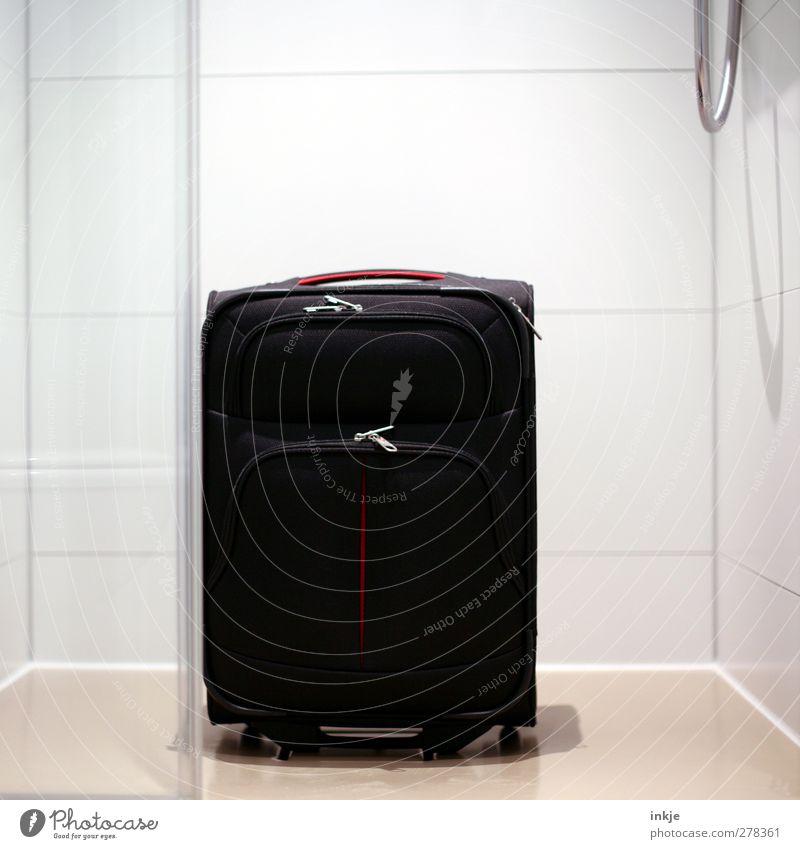 ich hab noch einen Koffer in Berlin Ferien & Urlaub & Reisen Tourismus Dusche (Installation) Unter der Dusche (Aktivität) Bad Fliesen u. Kacheln Duschschlauch